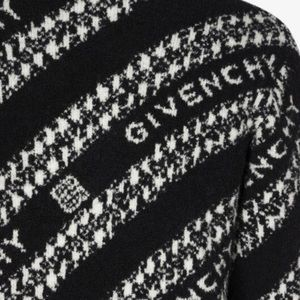 GIVENCHY CHAIN SWEATER IN JACQUARD